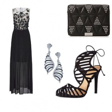 Outfit Cerimonia in black