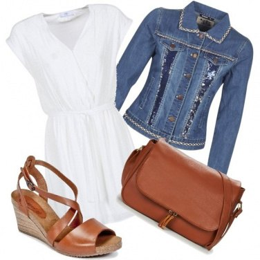 Outfit Cuoio con Spartoo