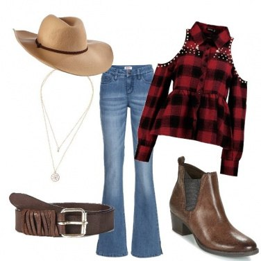 Outfit Cow girl