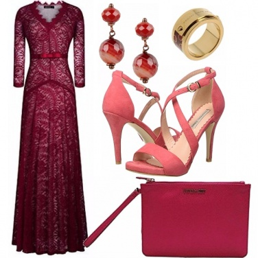 Outfit Abito in pizzo