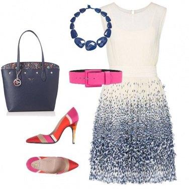 Outfit In ufficio con glamour