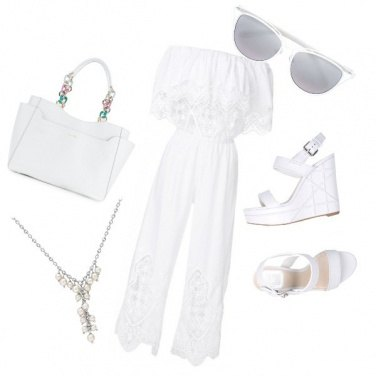 Outfit Bianco puro
