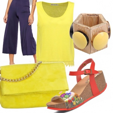 Outfit Look da passeggiata pomeridiana