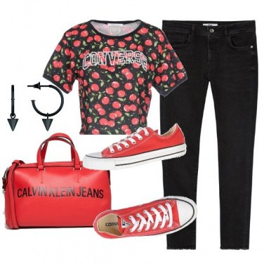 Outfit I love converse