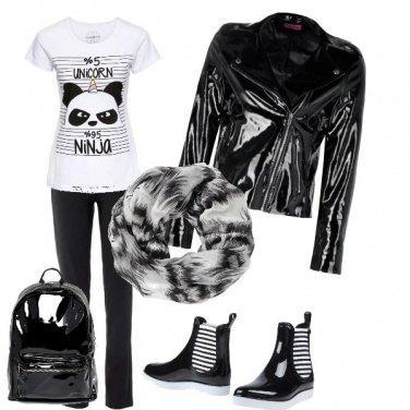 Outfit Sotto la pioggia..