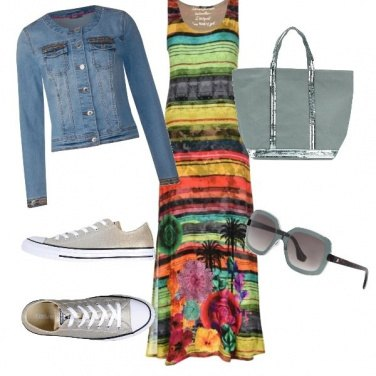 Outfit Aperitivo tropical
