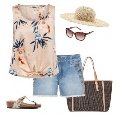 Outfit Pic nic in spiaggia