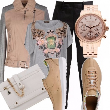 Outfit Casual griffe (Look Deluxe)