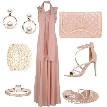 Outfit Matrimonio perlato