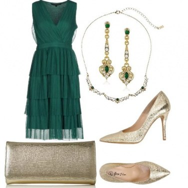 Outfit Oro verde