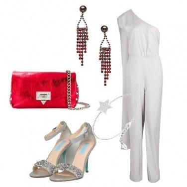 Outfit Sandali gioiello e jumpsuit