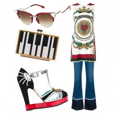 Outfit Glamorous denim