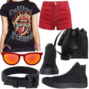 Outfit Rock spumeggiante