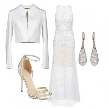 Outfit Sposa glam