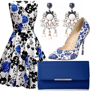 Outfit Blu cerimonia!