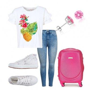 Outfit In viaggio comode e colorate