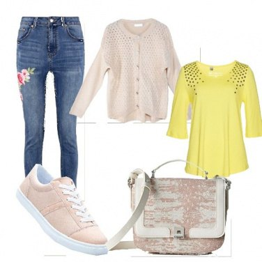 Outfit Outfit donna con jeans