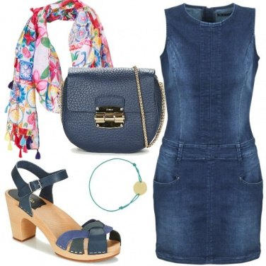 Outfit Abitino in jeans