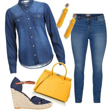 Outfit Denim in love
