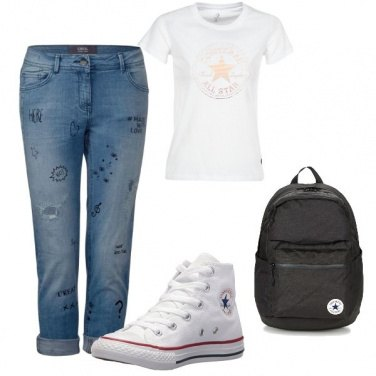 Outfit Converse look