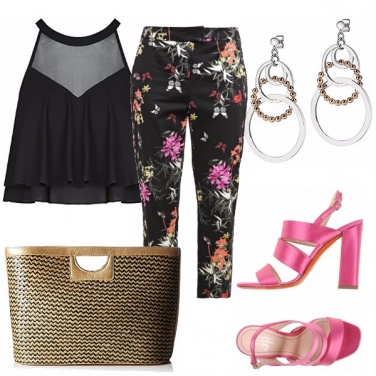 Outfit 7/8 floreale