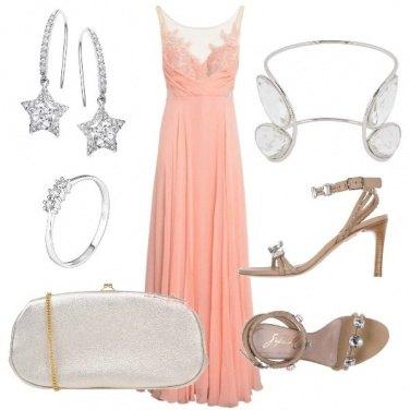 Outfit Invitata argento