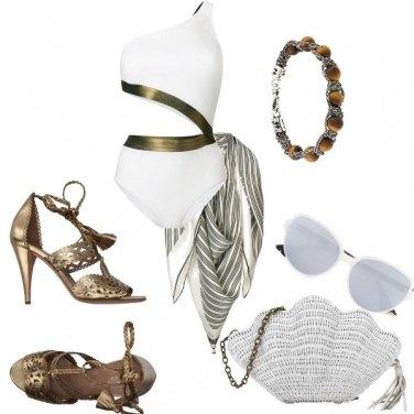 Outfit Glamour a bordo piscina