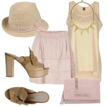 Outfit Aperitivo con cappello