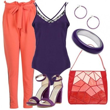 Outfit Body viola