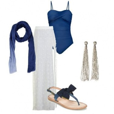 Outfit Apericena in spiaggia