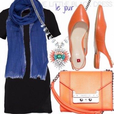 Outfit THE LITTLE BLACK DRESS - LE JOUR