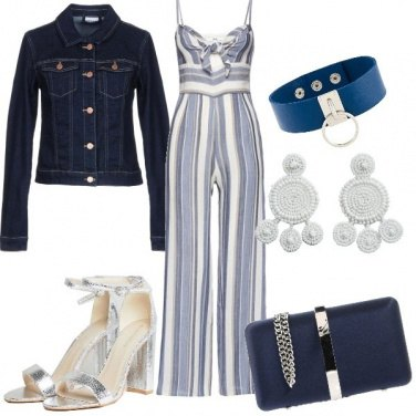 Outfit Jump in blu