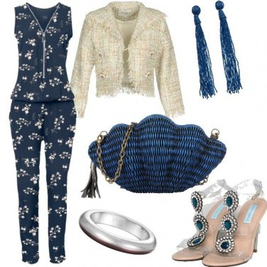 Outfit Jump in blu #2