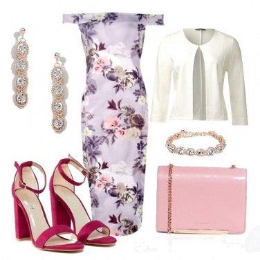 Outfit Lilla e fiori..