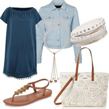 Outfit Il vestitino boho