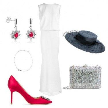 Outfit Un matrimonio con le #manoloblahnik