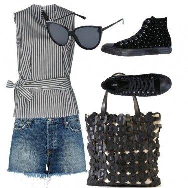 Outfit Le mie Converse preferite