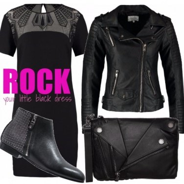 Outfit ROCK YOUR LITTLE BLACK DRESS