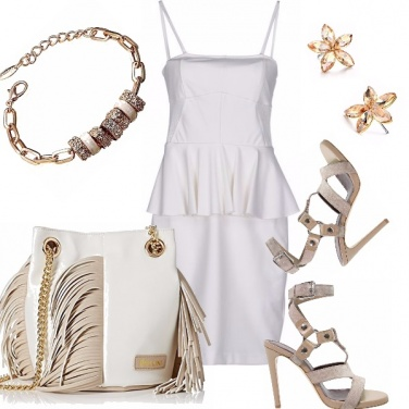 Outfit White dress