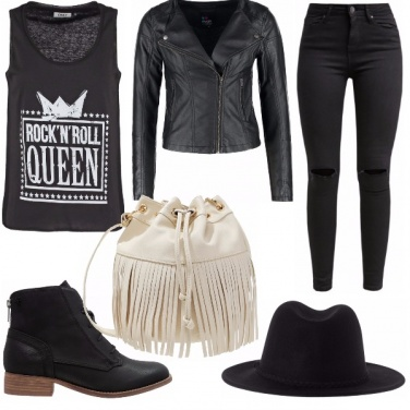 Outfit Rock\'n\'roll queen