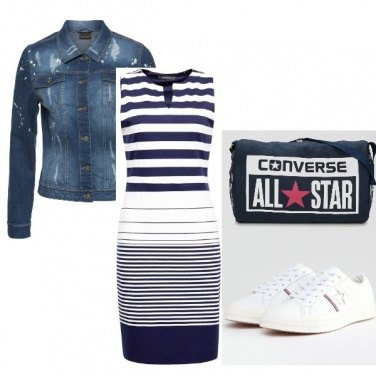 Outfit Converse style