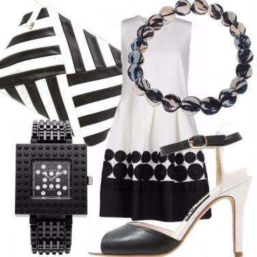 Outfit E se ti dicessi bianco e nero?