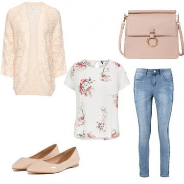 Outfit Un tocco floreale