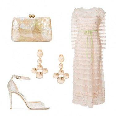 Outfit Cerimonia romantica