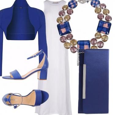 Outfit Blu di sera