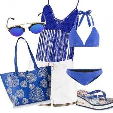 Outfit Azzurro mare