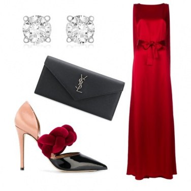Outfit Fantastica in rosso
