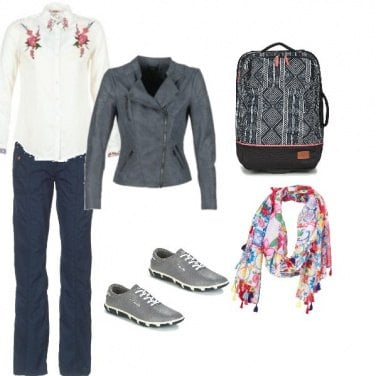 Outfit A spasso col tempo