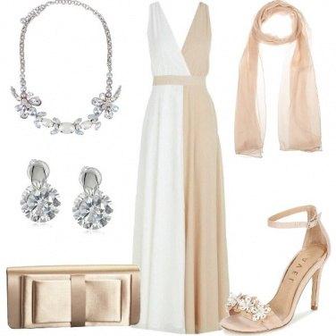 Outfit Abito bicolore