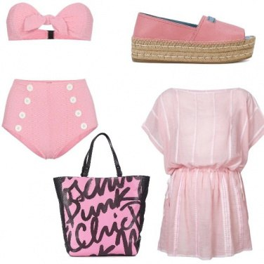 Outfit Pink sea